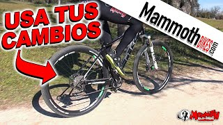 La bicicleta - Como usar los cambios correctamente