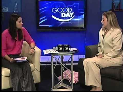 Dr Kristin Collier talks about upcoming Breast Cancer Awareness Walk on Fox 31 Albany Oct 9 2013