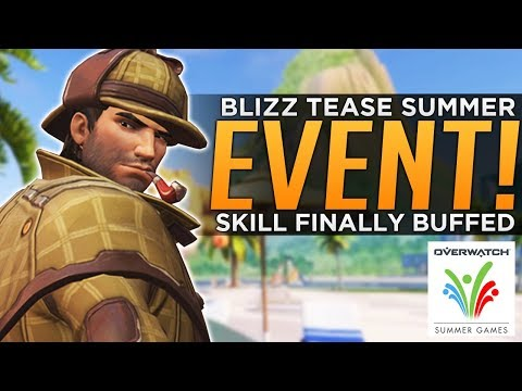 Overwatch: Summer Games Next Week!? - Blizzard Finally BUFFS Skill!