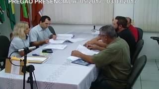 Licitações - Pregão nº005/2017 - 03/03/2017 - SAMAE