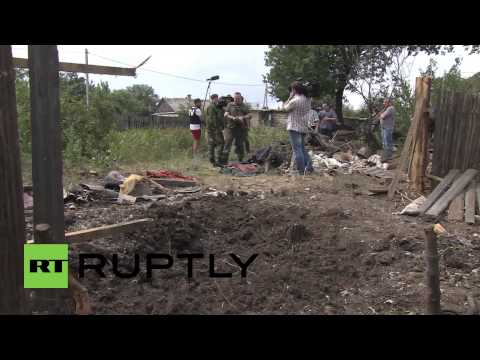 Russia: Foreign military invited to inspect shelled border town