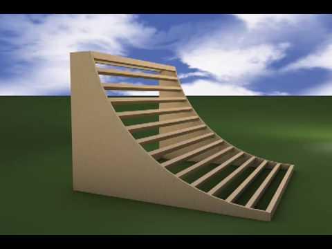 Build Bmx Half Pipe Plans