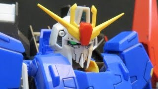 RG Zeta Gundam (Part 4: Verdict) Kamille Bidan & Judau Ashta Gunpla model review ガンプラ view on youtube.com tube online.