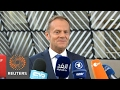 Tusk says EUs unity in Brexit talks is in Britains interest