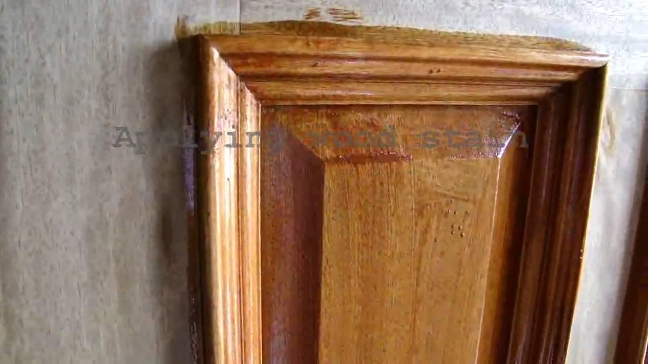 Wood Door Refinishing Dallas Ft Worth Staining And Sealing Door Finish Varnish