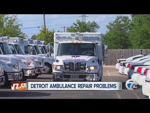 Detroit ambulance repair problems