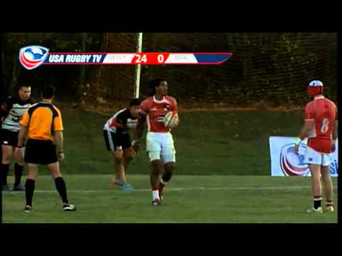 2013 USA Rugby College 7s National Championship: San Diego vs. Arkansas