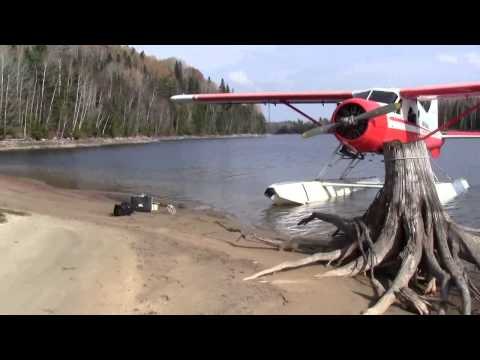 EXPLORING AND MINES BY FLOAT PLANE