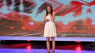 The X Factor Lucie Jones First Audition HD