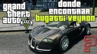 Como Encontrar El Bugatti Y Donde Esta La Base Militar Gta