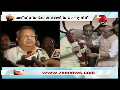 Chhattisgarh CM Raman Singh welcomes Modi's nomination as BJP's PM candidate