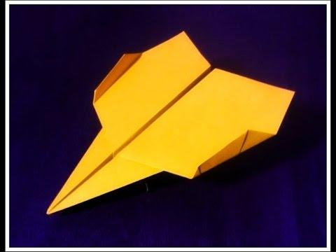 Cómo hacer el mejor avión planeador de papel - origami (papiroflexia)