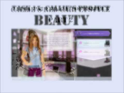 Stardoll Academy Walkthrough Task 15: Callie's Project BEAUTY: Callie's Red Carpet Style Part 2,   