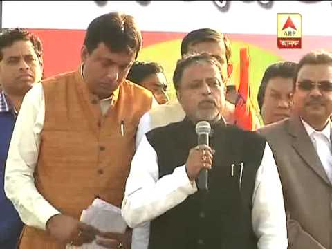 Mukul Roy announces that many Congress and left leaders-workers Join TMC