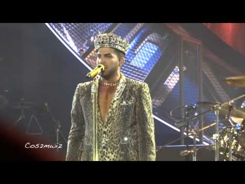 Queen + Adam Lambert WE WILL ROCK YOU - Chicago 6/19/14