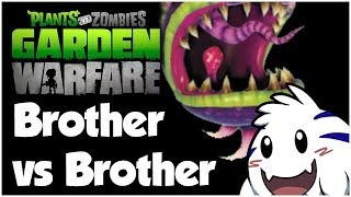 Plants vs. Zombies Garden Warfare Walkthrough - BRO VS BRO!! (1080p HD)
