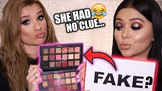 GUESSING REAL vs FAKE MAKEUP PRODUCTS!