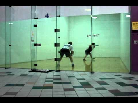 How to Play Racquetball - Rob Gameplay Analysis