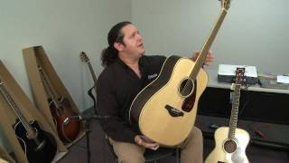 Yamaha FG730S FG Series Acoustic Guitar Review Full