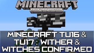Minecraft Xbox 360 & PS3TU16/17 Info : Wither Boss