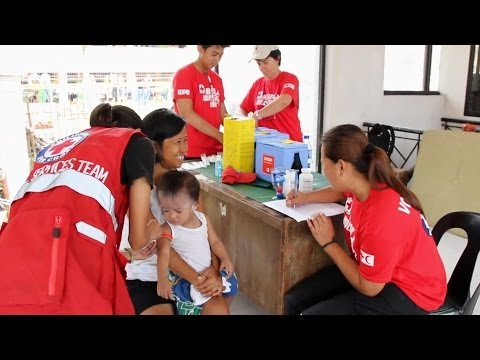 Vaccination campaign in Tacloban, Philippines, takes aim at deadly diseases