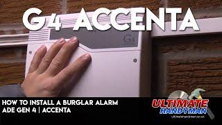 How to install a burglar alarm | ADE Gen 4 | Accenta