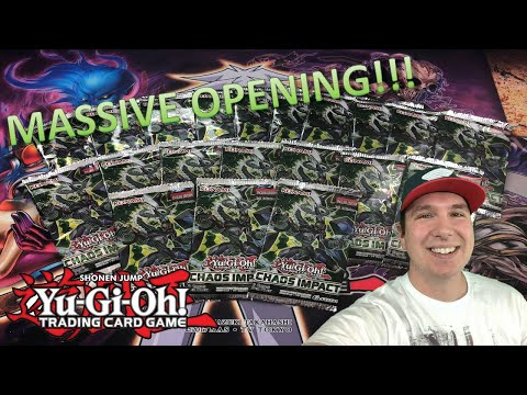 *MASSIVE YuGiOh CHAOS IMPACT BOOSTER PACK OPENING!* We Pulled Some of the Best Cards!