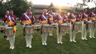The Cadets Drumline 2013 - Show Music