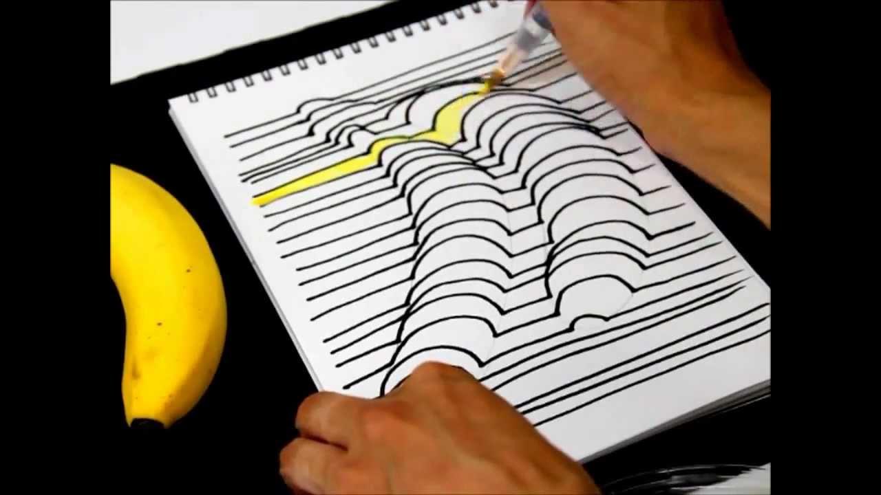 Как нарисовать 3d рисунок на бумаге ...: www.youtube.com/watch?v=PBhWG6CANOc