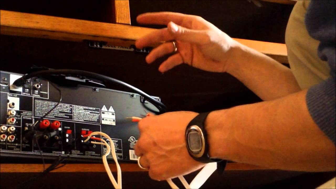 hook up active speakers