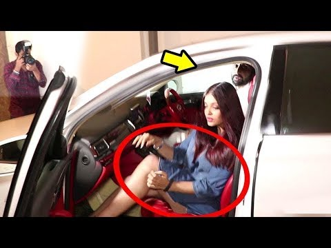 Abhishek Bachchan Lashes Out As Paparazzi Click Aishwarya Rai Bachchan In A Wrong Light