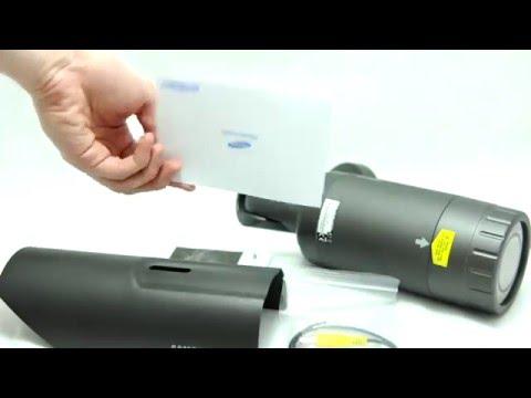 Видеообзор уличной видеокамеры Samsung SCO-2080RHP