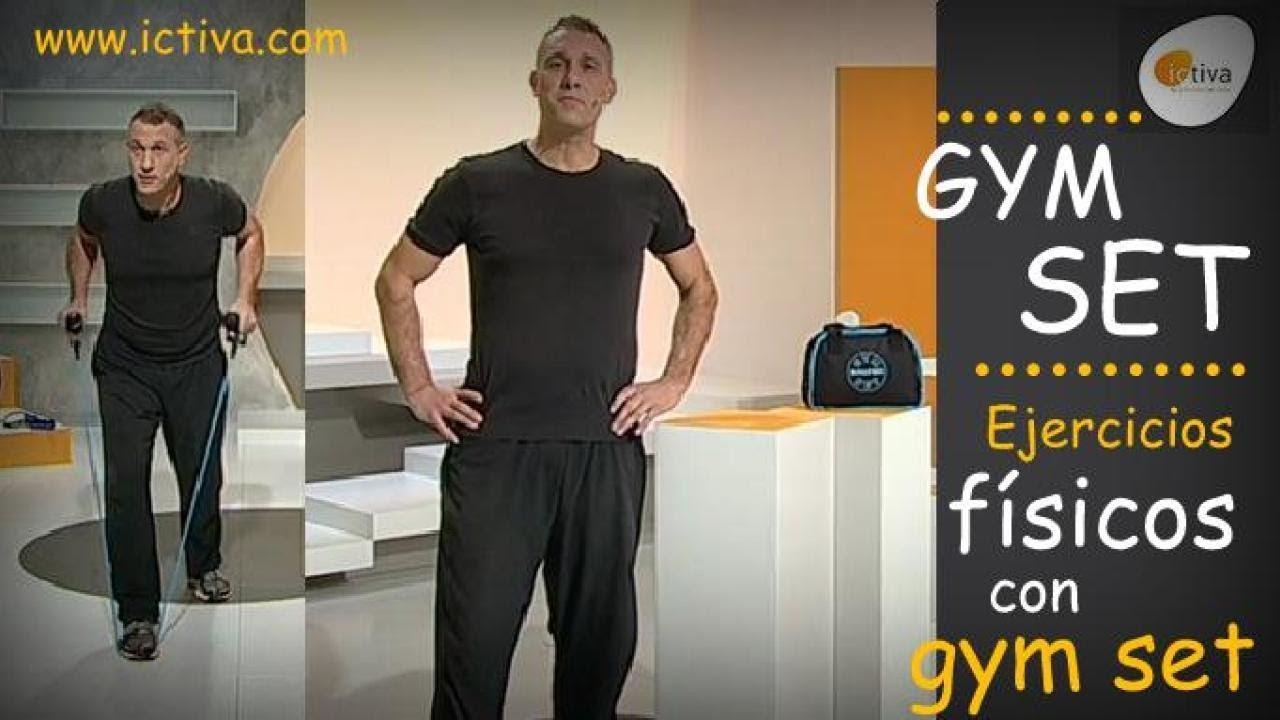 Ejercicios con gym set ejercicios f sicos en casa para for Gimnasio en casa