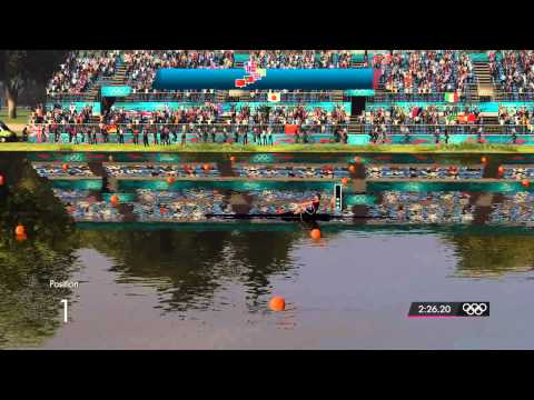 London 2012: The Official Video Game - Men's Single Sculls