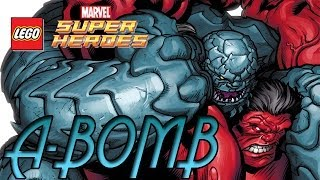 Lets Play: Rick Jones (A-Bomb) Lego Marvel Super Heroes