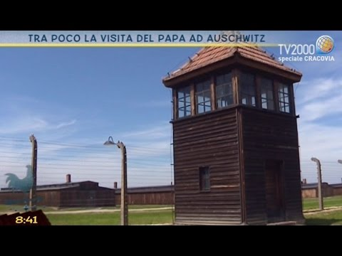Gmg2016 In attesa del Papa ad Auschwitz