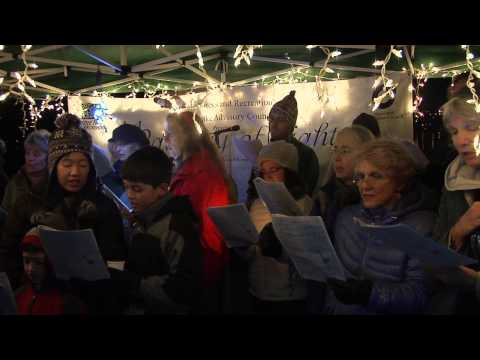 350.org Green Carols at Green Lake 12/08/12