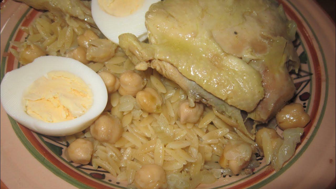 Tlitli au poulet sauce blanche recette cuisine algerienne youtube - Google cuisine algerienne ...