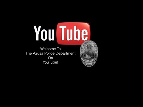 Welcome To The AZPD On YouTube