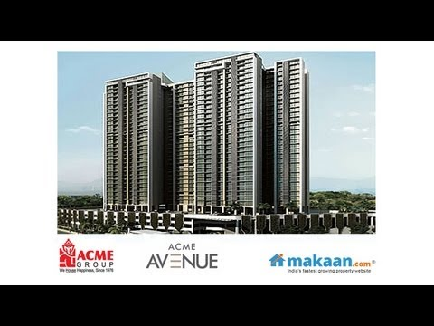 ACME Avenue, Kandivali West, Mumbai Andheri Dahisar, Residential Apartments