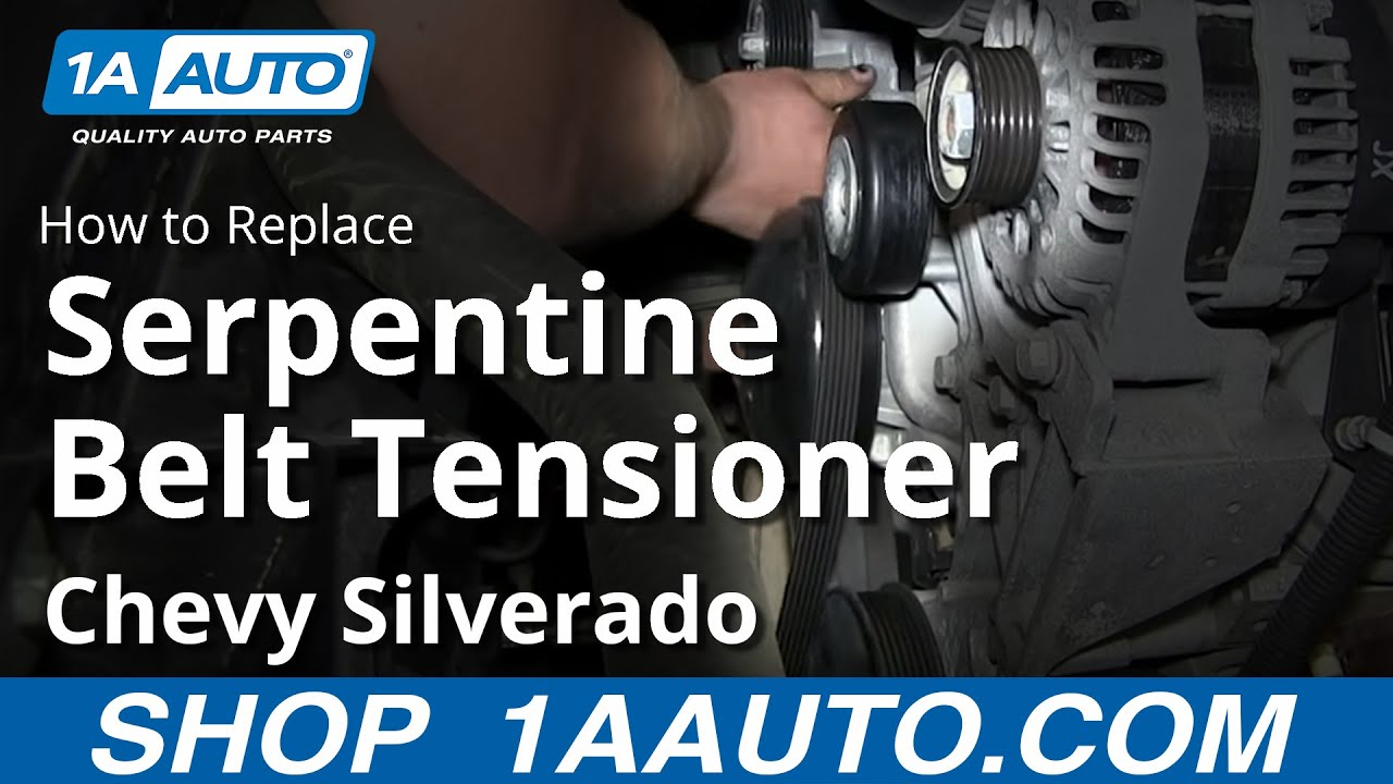 How To Install Replace Serpentine Belt Tensioner 200713