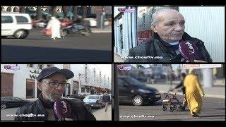 بالفيديو..بعد انطلاق تطبيق قانون الراجلين..مغاربة يردون..ماميكنش نخلصو غرامة ديال 25 درهم | خارج البلاطو