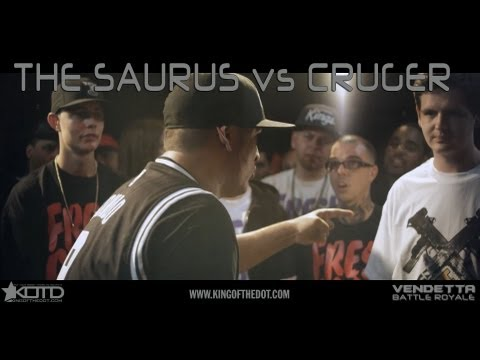KOTD - Rap Battle - The Saurus vs Cruger