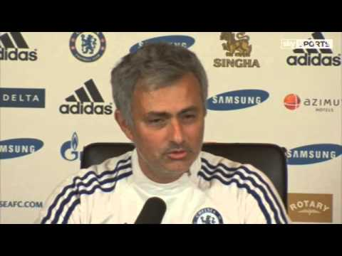 Mourinho not happy   Video   Watch TV Show   Sky Sports