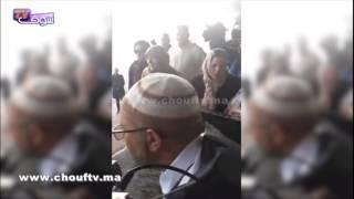 فيديو جد مؤثر..لحظة وصول جثمان المغربي شهيد مجرزة مسجد كيبيك إلى أرض الوطن   خارج البلاطو
