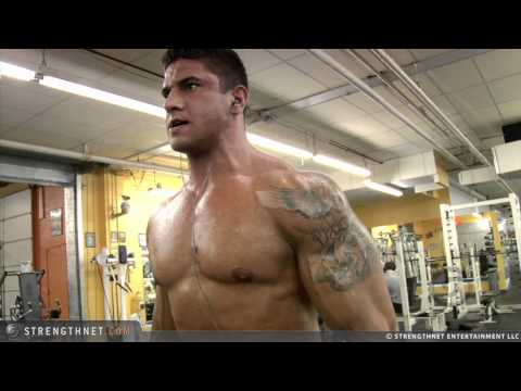 Dean Michael Hammer Curls 100LB Dumbbells
