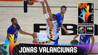 Jonas Valanciunas - Best Player (Lithuania) - 2014 FIBA Basketball World Cup
