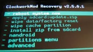 Android Tutorial Custom Recovery No LG P350