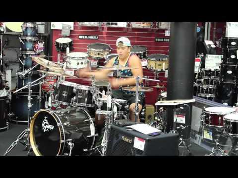 Guitar Center Drum Off 2013 Sacramento: Kyle Cuaresma