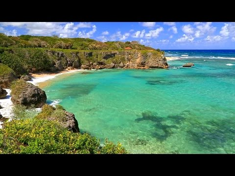 Relaxing Piano Music with Ocean Sounds - HD Video 1080p